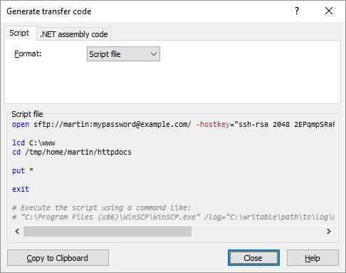 Winscp transfer settings best option
